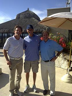 Brent Underdahl, Davis Love III y Terry Harker